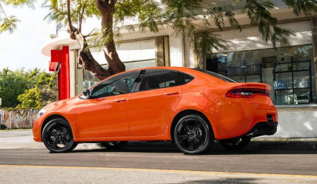 The 2016 Dodge Dart in competition with traditional, is a small car, but is actually a mid-sized car to the EPA weighed standards. Competitive 2016 Dodge Dart includes the Chevrolet Cruze, Ford Focus, Honda Civic, Kia Forte, Mazda 3, Hyundai Elantra