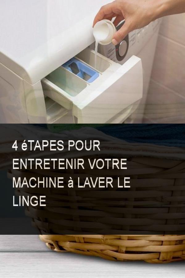 4 tapes pour entretenir votre machine laver le linge. Black Bedroom Furniture Sets. Home Design Ideas