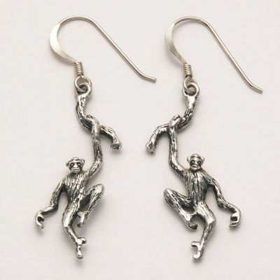 Chimpanzee Earrings at theBIGzoo.com, an animal-themed superstore.