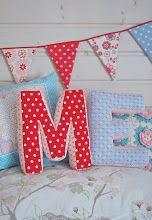 mamas kram: Anleitung für Buchstaben-Kissen