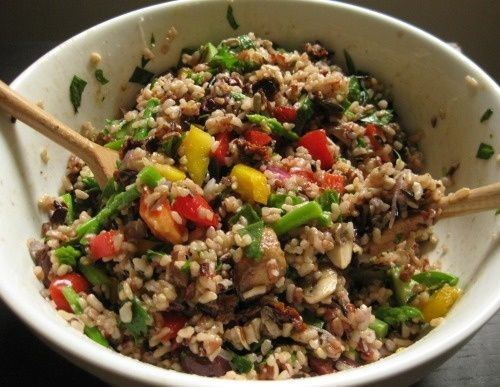 Wild Rice Salad - raw Food Diet - http://bestrecipesmagazine.com/wild-rice-salad-raw-food-diet/