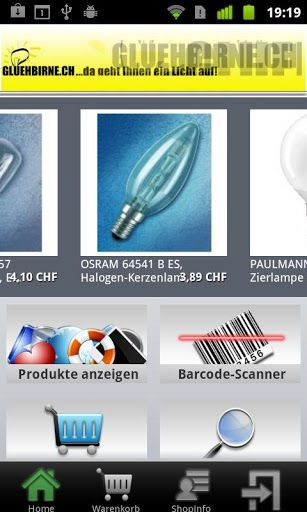 Herzlich willkommen bei gluehbirne.ch, <br>dem Schweizer E-Shop Nr. 1 für Leuchtmittel & Batterien...<p>Glühlampen, Energiesparlampen, Halogenlampen, Leuchtstoffröhren, Kompaktleuchtstofflampen, Entladungslampen, Betriebs- und Vorschaltgeräte, Miniaturlampen, Autolampen, Bühnen-, Theater-, Projektionslampen, Pflanzenlampen, Speziallampen aller Art - wir liefern alles was leuchtet schnell und zu Toppreisen! Auch Batterien, Knopfzellen und Akkus bestellen Sie am besten in unserem Shop.