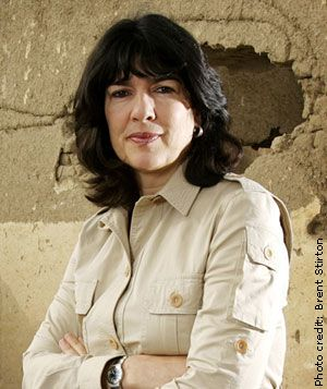 Christiane Amanpour: A true journalist.