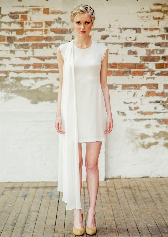... yeux on Pinterest  Oscar de la Renta, Short wedding dresses and Belle