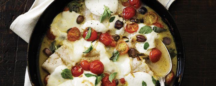 Med pizzaiola-saucen får du et italiensk tvist på den klassiske torsk. Saucen er en grundsmag i det italienske køkken, og giver denne ret masser af smag.