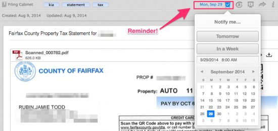 Add Reminders to Scanned Documents for Quick Action Items