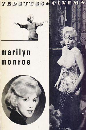 1963: Vedettes du Cinema magazine cover of Marilyn Monroe .... #normajeane #vintagemagazine #pinup #iconic #raremagazine #magazinecover #hollywoodactress #monroe #marilyn #1960s