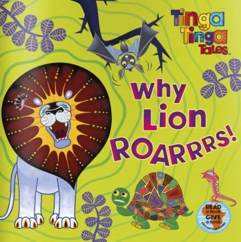 Inspired by the brilliantly colorful Tingatinga artwork: Tinga Tinga Tales on wegivebooks.org