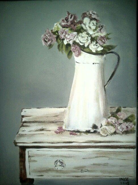 Inge du Preez: acrylic on canvas