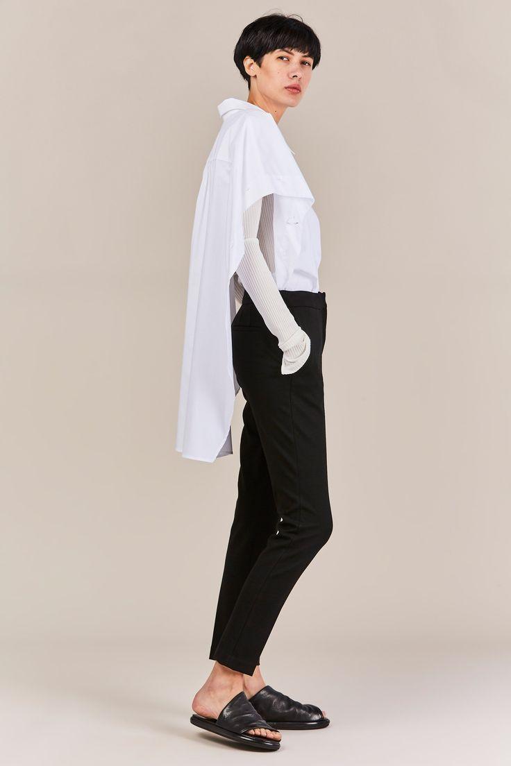 Palmer Harding - Poet Shirt, White