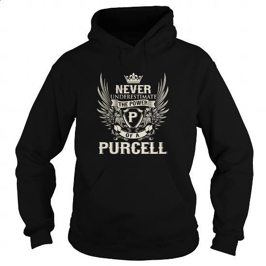 PURCELL P - #funny hoodies #hooded sweatshirt. MORE INFO => https://www.sunfrog.com/LifeStyle/PURCELL-P-Black-Hoodie.html?60505