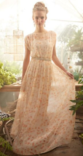 lovely peach blossom maxi dress http://rstyle.me/n/msidvr9te