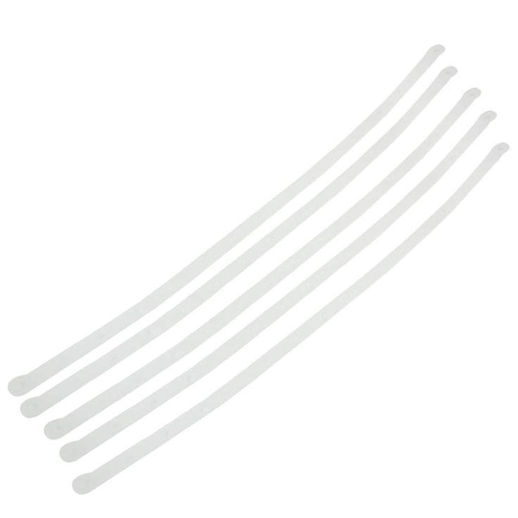 Unique Bargains Home Clothing Store 57.5cm Plastic Clothes Hanger Connecting Strip 5pcs