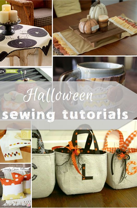 It is soon going to be time to start posting Christmas sewing tutorials, but I am going to post as many fall sewing projects as I can find!