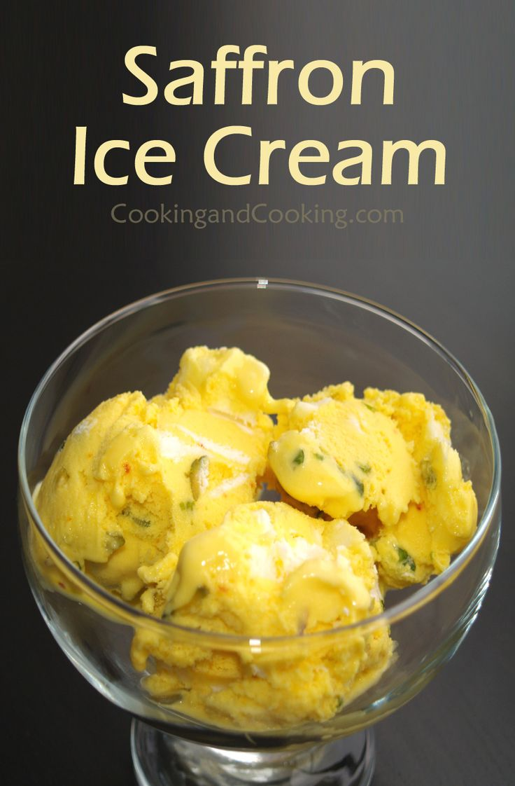 Saffron Ice Cream Recipe