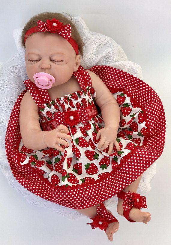 a65799e283413 Red Baby Dress, Baby dress Red, Red dress baby, Baby girl summer ...