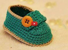Erkek Bebek Patik Yapımı Videolu Anlatım