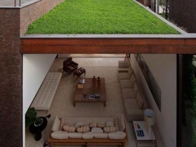 Zöldtető és tetőterasz