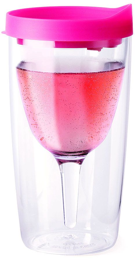 I so need one of these...once the baby is born.  Vino2Go | Party Pink