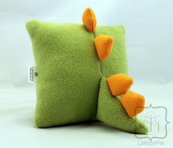 dinosaur pillow: Craft, Dragon Pillow, Pillows, Dinosaur Pillow, Dino Pillow