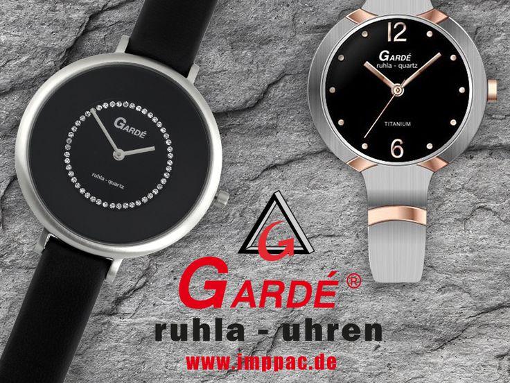 Traditionsmarke #Ruhla Uhren ist jetzt unter dem Namen #Gardé bekannt. Klassische Damen-, Herren-, und Kinderuhren jetzt im #Imppac Shop