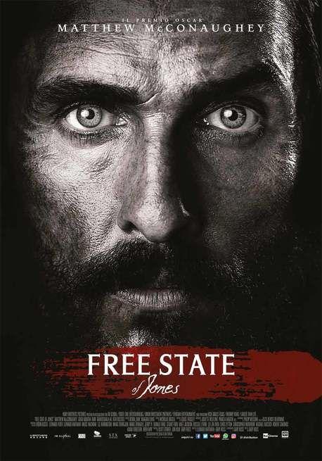 Free State of Jones USA: 2016 Genere: Drammatico Durata: 141' Regia: Gary Ross Con: Matthew McConaughey, Gugu Mbatha-Raw, Mahershala Ali, Keri Russe