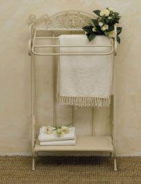 Porta asciugamano avorio