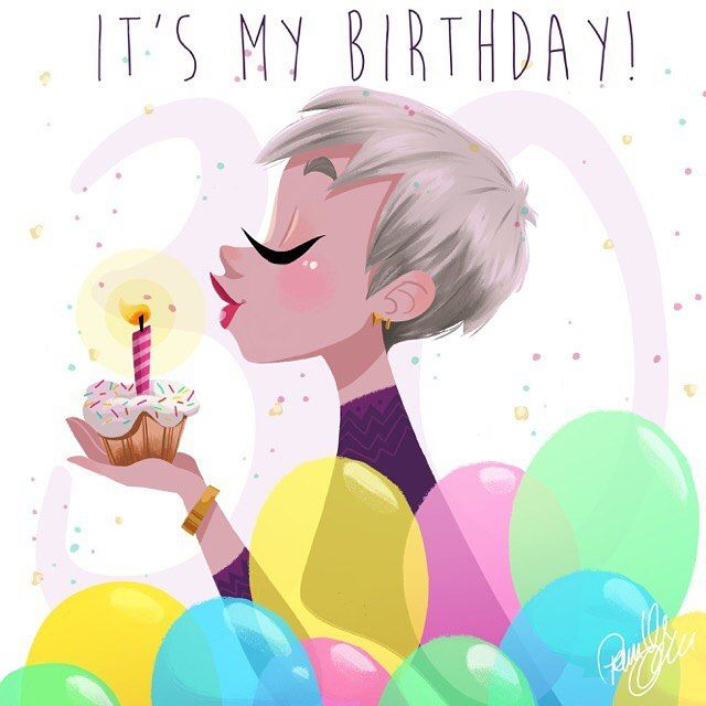 It's my birthday today #todaysmybirthday #turning30