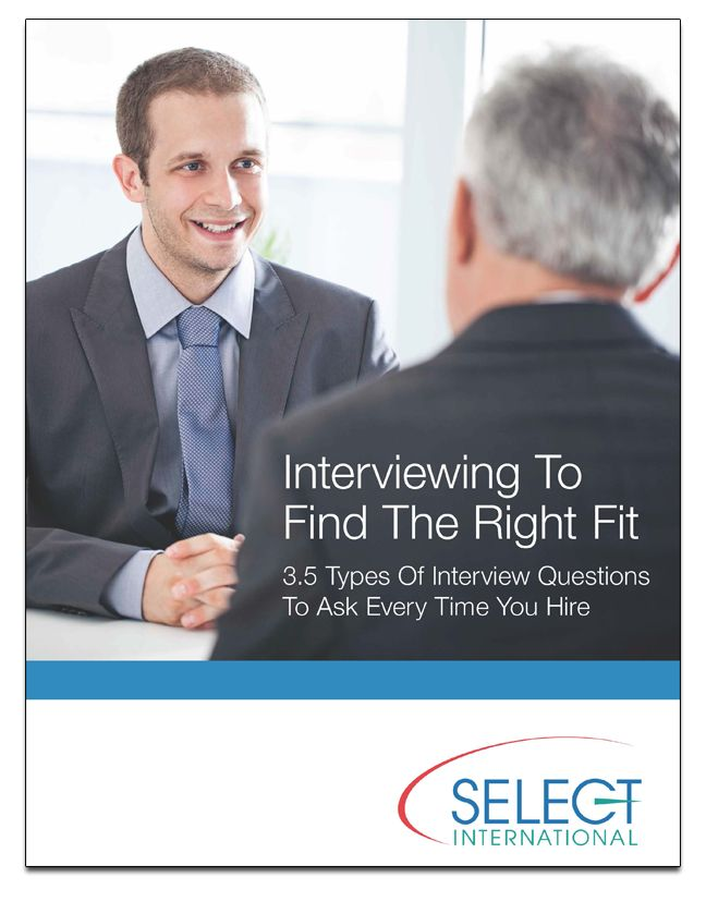 Interviewing To Find The Right Fit // 3.5 Types of Interview Questions ...