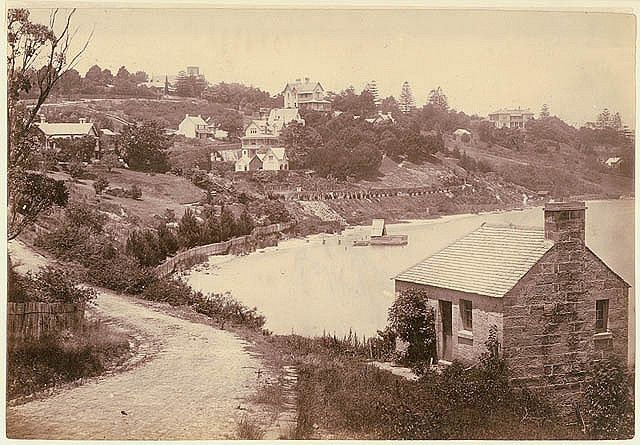 Rushcutter's Bay, Sydney, ca. 1874 / by unknown photographer by State Library of New South Wales collection, via Flickr