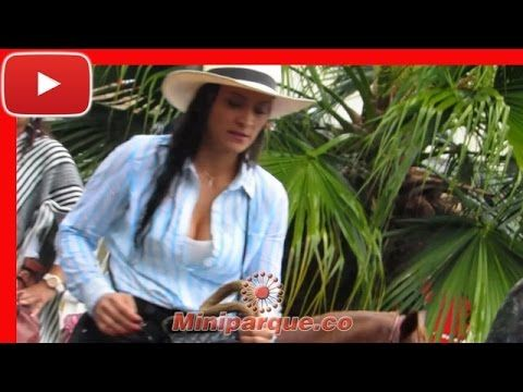 Desfila a caballo con bellas chicas horse cabalgata sevilla valle 2016 video HD 116