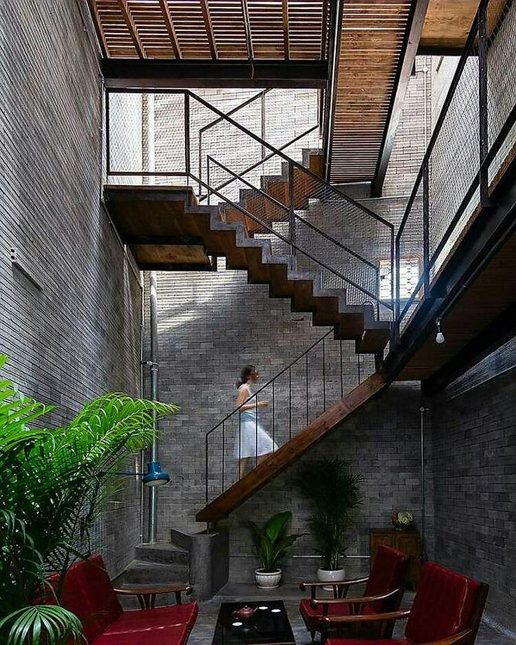 Industrial Metal Staircase Design: 17 Best Ideas About Industrial Stairs On Pinterest