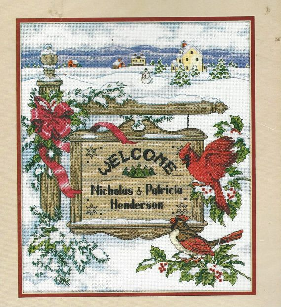 90s Dimensions Cross Stitch Kit 8524 Holiday by CloesCloset