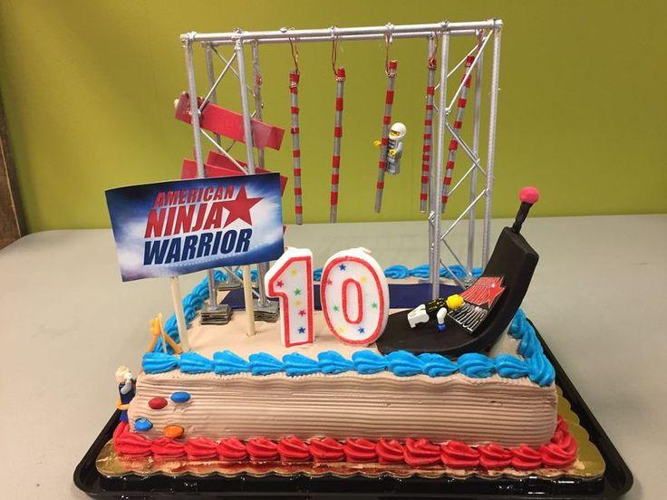Ultimate Warrior Birthday Cake