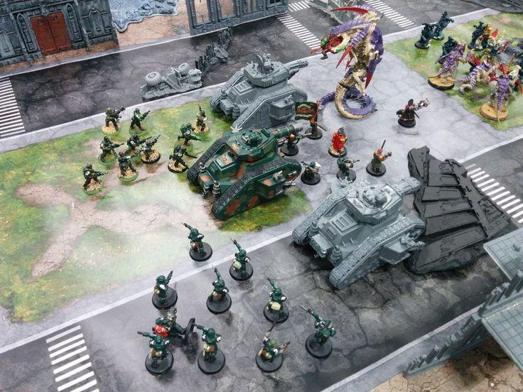 Urban Commando and Battleground Gaming Mats Review