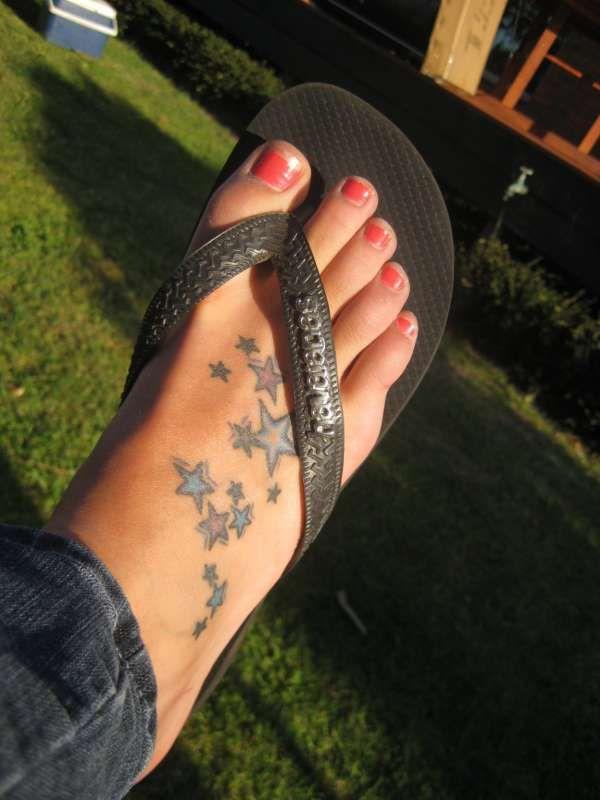 Star Foot Tattoo