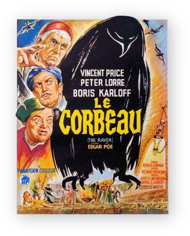 Francomac™: Corman-1963-Le corbeau