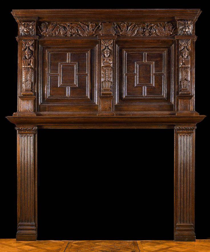 74 best Antique Fireplace Mantels images on Pinterest