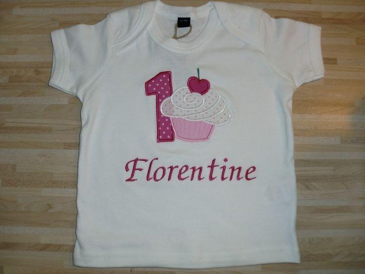 Geburtstagsshirt+♥♥♥+Cupcake+♥♥♥+von++Stupsnadel+auf+DaWanda.com