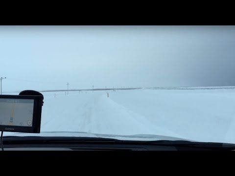 Winter Driving in Iceland - December 2015 - YouTube