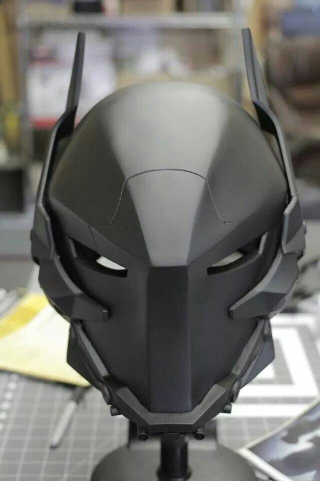 Бэтмен шлем своими руками - Юность