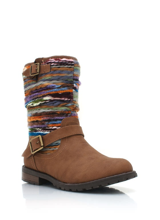 yarn inset boots $33.50