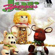 Crochet Jar huggies Вязаные Держатели для бутылок (англ)