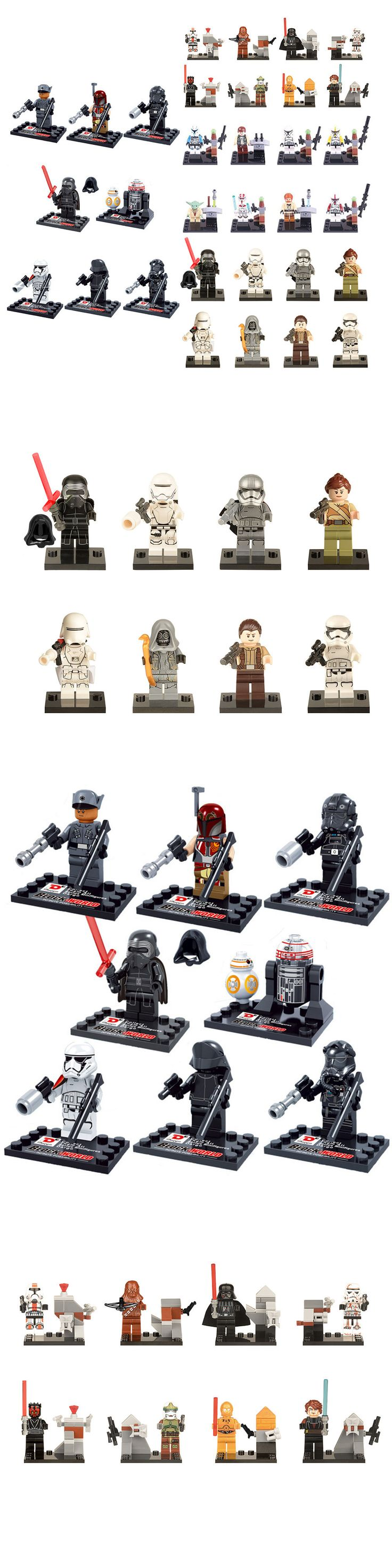 Other Building Toys 19015: 32Pcs Star Wars Clone Trooper Darth Yoda C-3P0 Bb8 Custom Mini Figure Fits Lego -> BUY IT NOW ONLY: $33.39 on eBay!