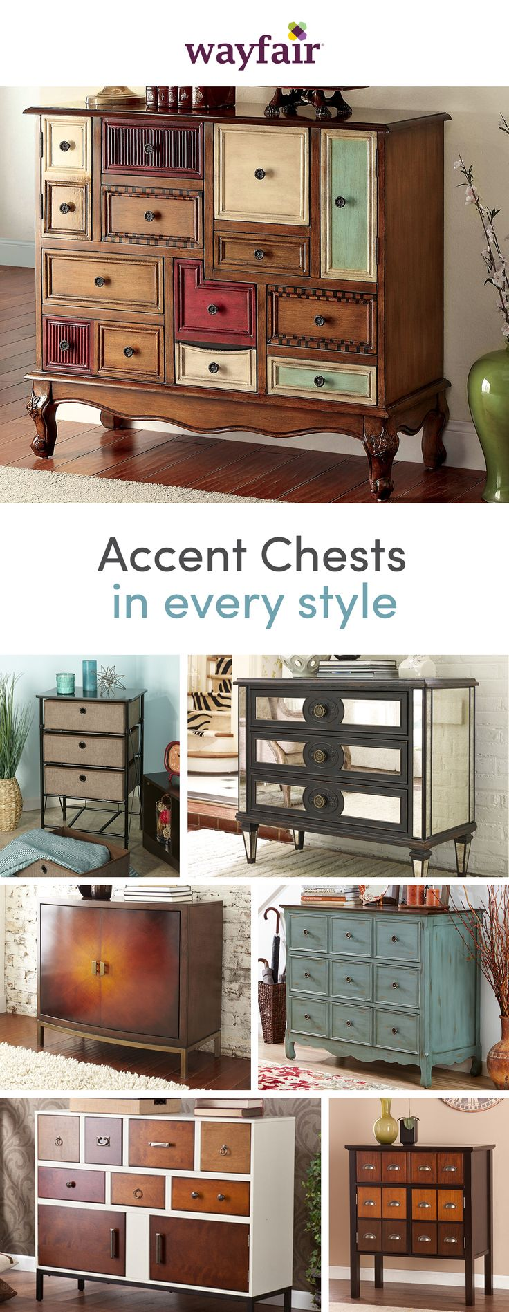 Storage, meet style. The perfect piece of home décor, accent chests are the - The 95 Best Furniture Images On Pinterest Antique Furniture