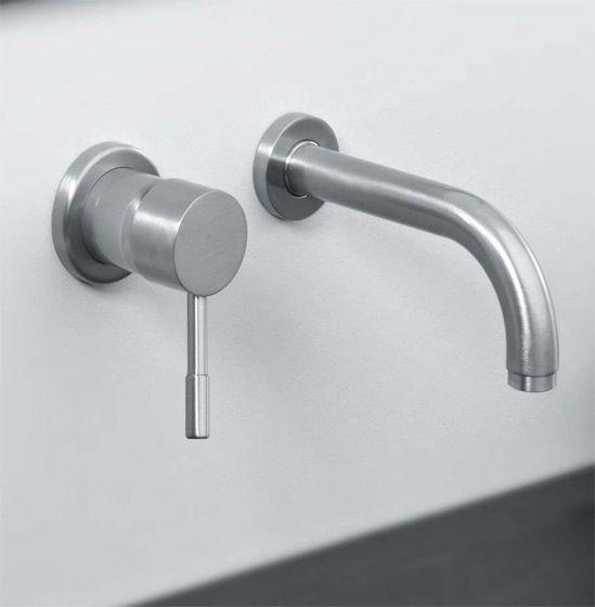 Miscelatore a parete per lavabo sektor - Rubinetterie per bagno ...