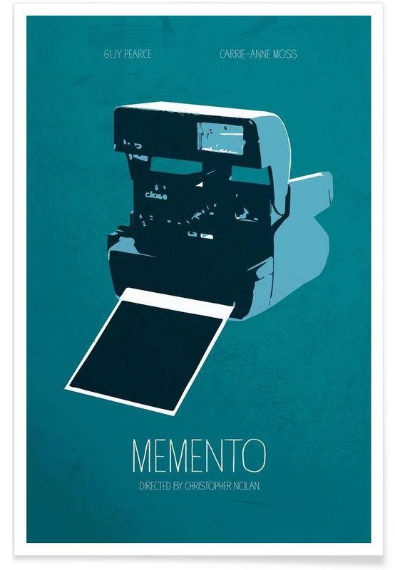 Memento en Affiche premium par Calm The Ham | JUNIQE