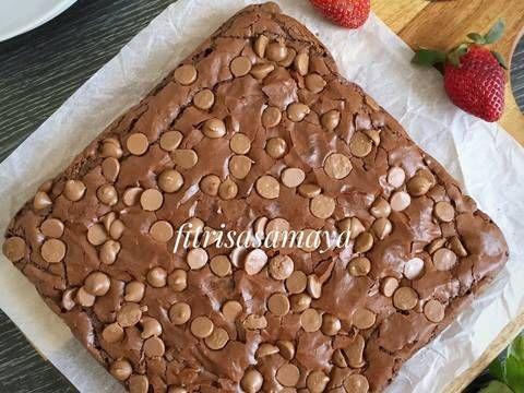 Chewy Brownies Resep Cake Brownies Resep Dan Kue