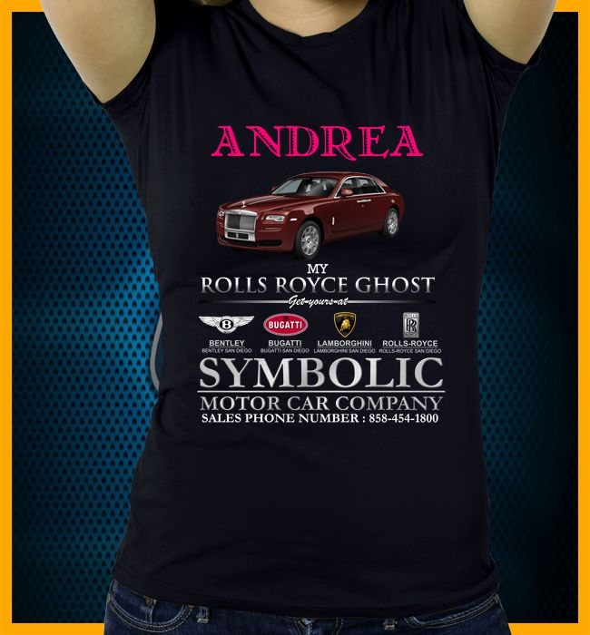 17 Best Symbolic Motor Car Company Personalized Tee Images On
