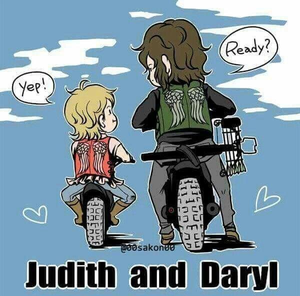 Judith &Daryl ❤